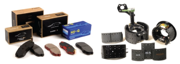 Brake Pads & Shoe Assy