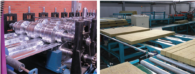 Insulated Sandwich Panel Manufacturing Line – Korean