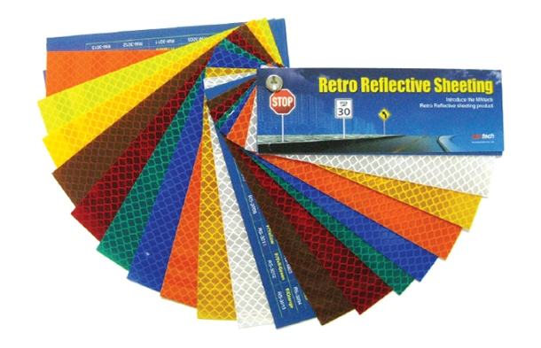 Micro-prism Type Retro Reflective Sheeting(