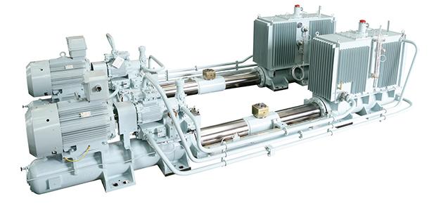 Hydraulic-steering-gear