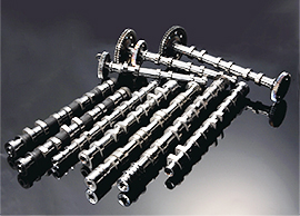 Powder-metal-assembled-camshaft
