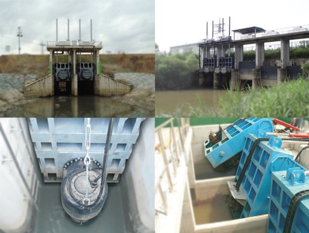 Pump-gates