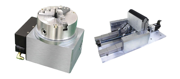 Four-axis-foldable-bed-for-machining-centers