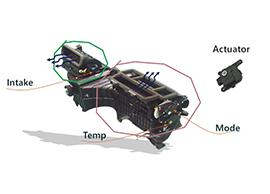 Damper-actuator