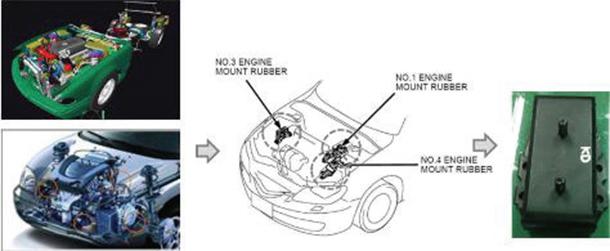 Engine-mount