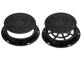 Manhole-cover-for-preventing-rainwater-inflow