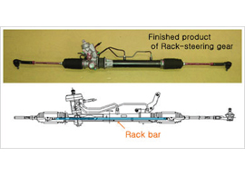Rack-steering-gear