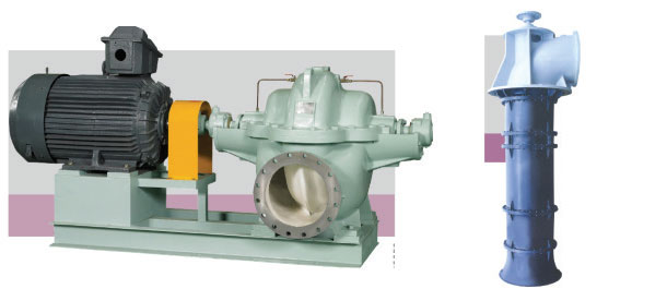 Double-suction-volute-pump