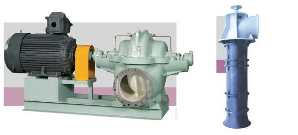 Double-suction-volute-pump