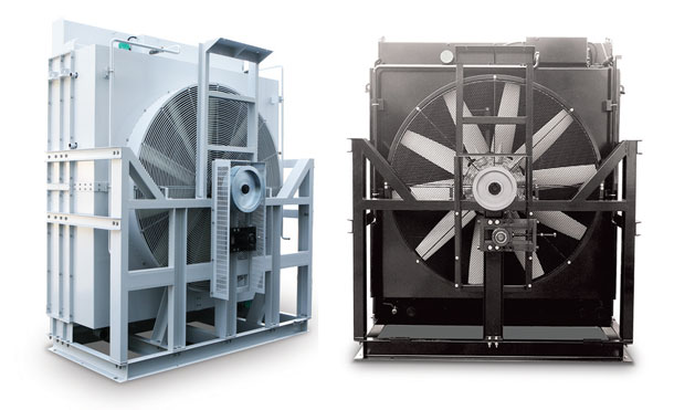 Mounted-type-radiator-for-diesel-&-gas-engines