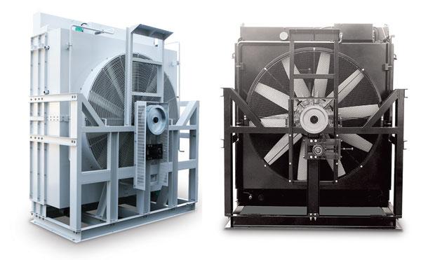 Mounted-type-radiator-for-diesel-&-gas-engines