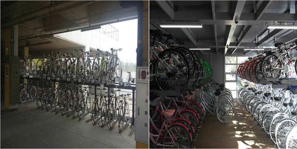 Two-stairs-bicycle-rack