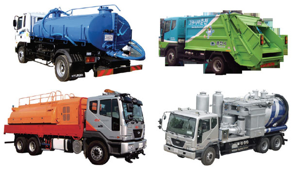 Waste-vehicles