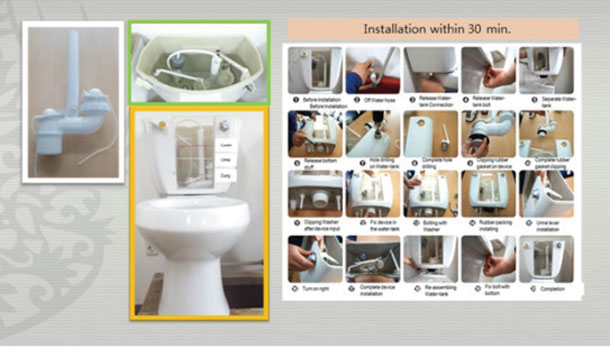 Water-saving-device-for-toilets