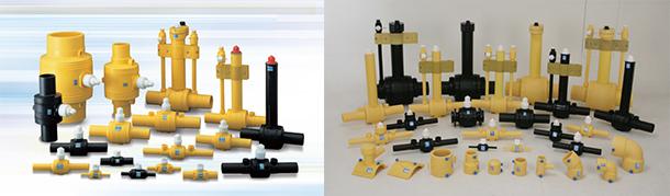 PE-ball-valves