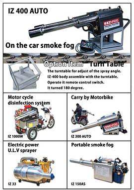 Vehicle-mounted-fogging-disinfection-machine