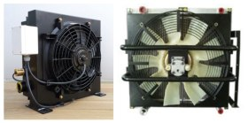 Heavy-construction-equipment-engine-cooling-module-&-Hydraulic-oil-cooler-complete