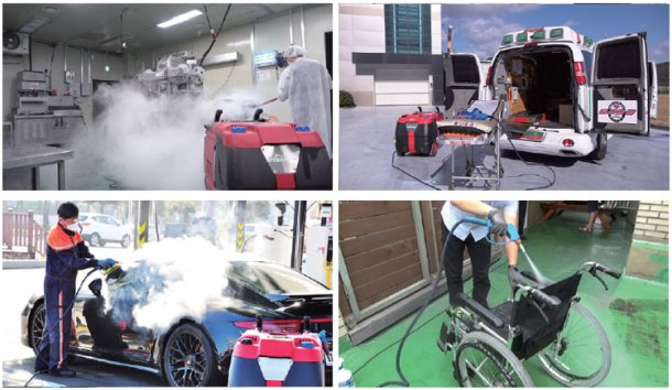 OPTIMA STEAMER XE/SEII Industrial Steam Cleaning Machine