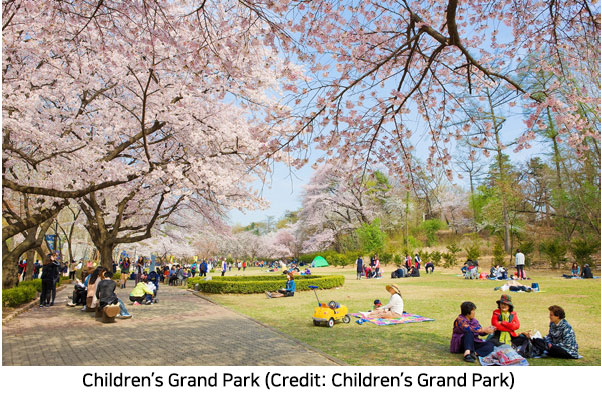 A Perfect Picnic Spot, Children's Grand Park