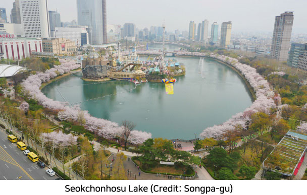 A Scene from a Fairy Tale, Seokchonhosu Lake