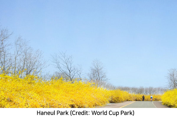 A Park Nearest to the Sky, Haneul Park in World Cup Park