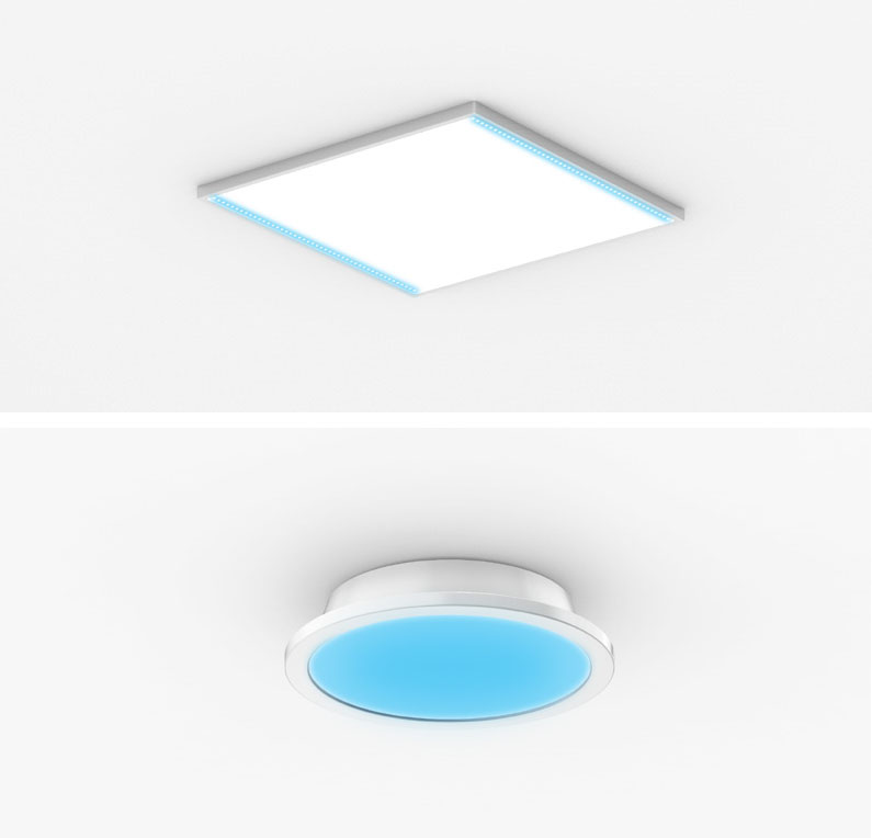 Convergence Disinfection Ceiling Lighting System (S-LIGHT)