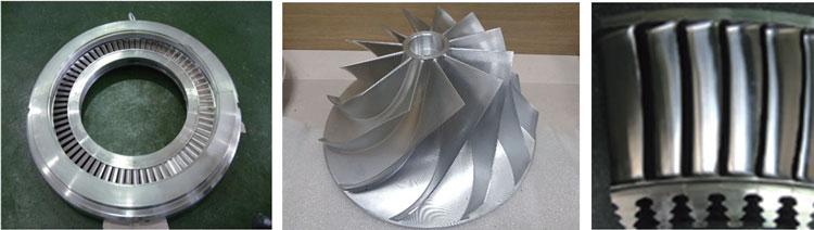 Rotating Parts of Steam Turbines & Gas Turbines
