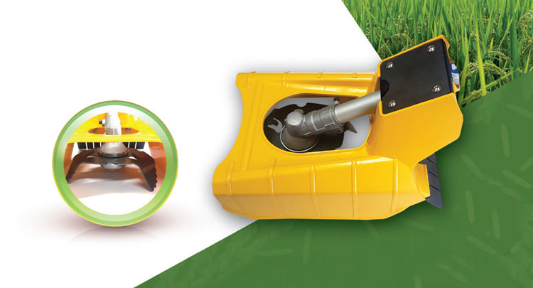 Vertical Shear-type Weeder Safety Cover